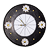 Daisy Clock - Leather
