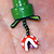 Mario Brothers Piranha Plant Necklace - Mixed Media